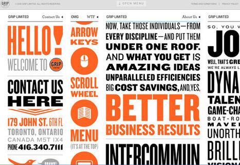 40 Websites with Unusual Navigation - Noupe Design Blog | Basics and principles for a good  Web Design | Scoop.it