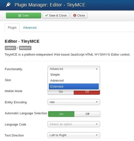 Balbooa - How to stop cleaning HTML and scripts code in Joomla? | we are launching | Scoop.it