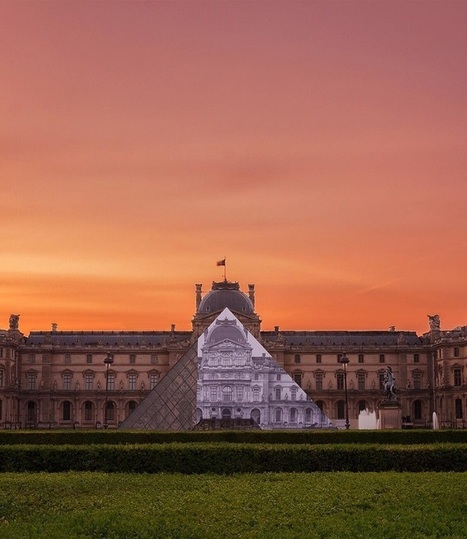"Street Artist JR Makes the Louvre ""Disappear"" with Creative Optical Illusion 