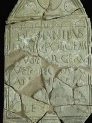 Roman veteran's tombstone displayed | Roma Antiqua | Scoop.it