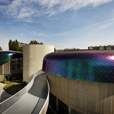 Office building by Agence Jouin Manku has dragon-like scales | architecture | Scoop.it