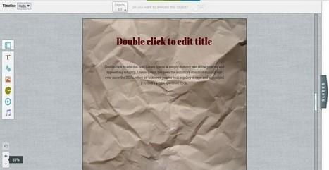 Visme: crea gratis presentaciones, banners, demos, animaciones, infografías y más | Avances TIC. Didáctica | Scoop.it