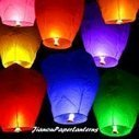 Make festival enjoyable with flying sky lanterns! | wholesale paper umbrella | Scoop.it