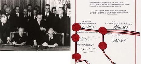 Traité de l'Elysée (22 janvier 1963) - France-Allemagne.fr | Que s'est il passé en 1963 ? | Scoop.it