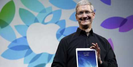 Tim Cook Had A Really Interesting Answer For Why iPad Sales Appear To Be Stalling | Educational Technology | Scoop.it