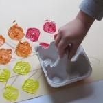 Painting fall trees with egg cartons in preschool | Teach Preschool | Scoop.it