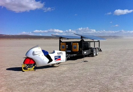 'Solar-powered' Motorcycle Creates New 'Land Speed Record'   Auto Guide India   Scoop.it
