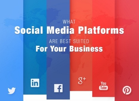 What Social Media Platforms Are Best Suited For Your Business - Blog About Infographics and Data Visualization - Cool Infographics | Top Social Media Tools | Scoop.it