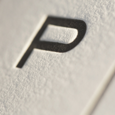 There's something about letterpress. - Perspective Lab, a San ...   letterpress printing   Scoop.it