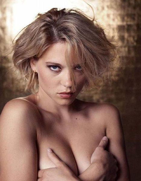 Photos : Léa Seydoux seins nus dans les Inrockuptibles   Radio Planète-Eléa   Scoop.it