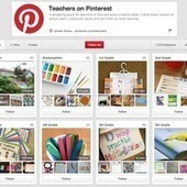 Pinterest Launches New Teachers Hub with Ideas for Lesson Plans, Classroom Decor, and More | Tools for Teachers | Scoop.it