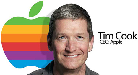 Tim Cook di Apple: essere gay è il più grande dono che Dio mi potesse fare! | QUEERWORLD! | Scoop.it