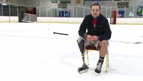 "Amputee builds his own prosthetic ice skate - KPHO Phoenix   ""adult figure skating""   Scoop.it"