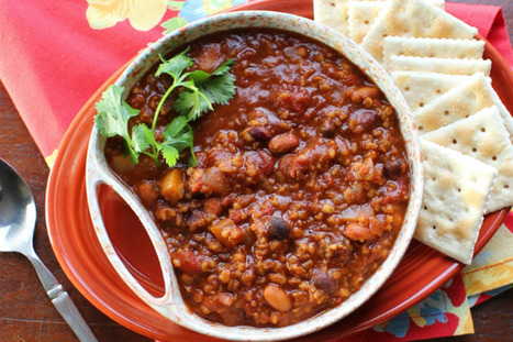 Meatless Monday: Vegan chili   Veganism   Scoop.it