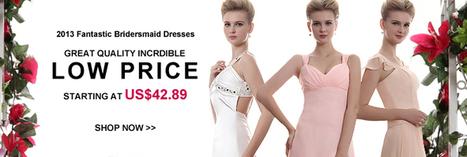 Cheap Bridesmaid Dresses 2012 - Affordable Bridesmaid Dresses under 100 : Tbdress.com | My future wedding | Scoop.it
