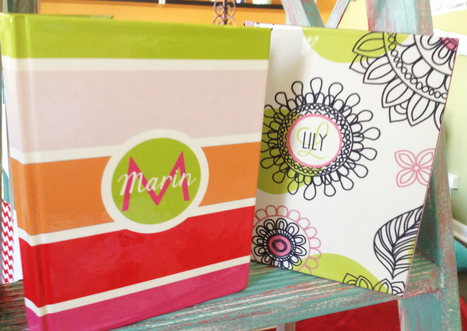 Personalized Journals - great gift for the pre-teen or teen! | Personalized Gifts and Custom Stationery | Scoop.it