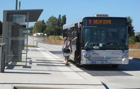 Fini les embouteillages entre Saint-Aubin et Saclay pour le bus express   Université Paris-Saclay : revue de presse   Scoop.it