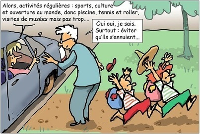 En vacances chez les grands-parents - La Croix | Histoire Familiale | Scoop.it