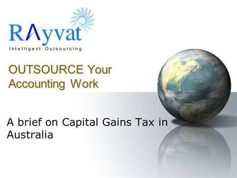 Exemption From Capital Gains Tax | Rayvat Accounting | Scoop.it