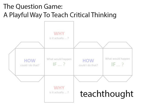 The Question Game: A Playful Way To Teach Critical Thinking | TeachThought | Scoop.it