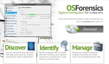 OSForensics - Digital investigation for a new era by PassMark Software® | ICT Security Tools | Scoop.it