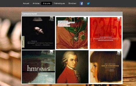 Harmonia Mundi s'offre une application sur Deezer | Music Industry News | Scoop.it