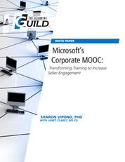 Microsoft's Corporate MOOC: Transforming Training to Increase Seller Engagement   Easy MOOC   Scoop.it