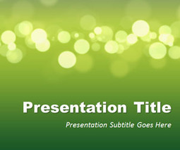 Green Marketing PowerPoint Template | múic | Scoop.it