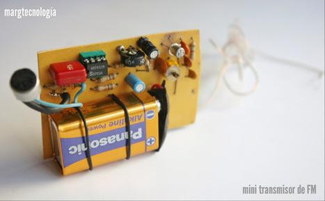 MARGTECNOLOGÍA: Presentacion de un sencillo mini transmisor Fm. | tecnología industrial | Scoop.it