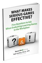 New Research-Based White Paper Published on Serious Learning Games - PR Web (press release) | Serious games | Scoop.it