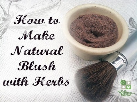 Natural Blush Makeup Recipe - Wellness Mama | I Love Makeup | Scoop.it