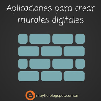 7 aplicaciones gratuitas para crear murales digitales | TIC para la educación | Tools, Tech and education | Scoop.it