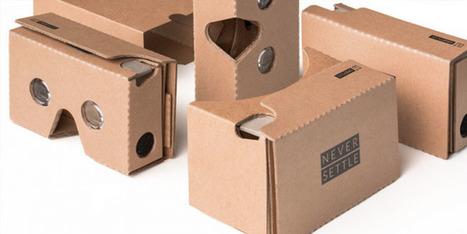 Cartón de realidad virtual para OnePlus no se vende más | CulturaDigital | Scoop.it