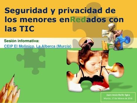 Formación y Competencias Digitales en pequeñas dosis: Seguridad y privacidad de los menores enRedados con las TIC | APRENDIZAJE | Scoop.it