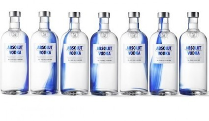 Une goutte de bleu cobalt pour l'Absolut Vodka | Sensory Marketing | Scoop.it