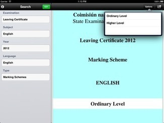Leaving Cert student launches iOS exam paper app for fellow students - Siliconrepublic.com   Leaving Cert and the added pressure of the media   Scoop.it