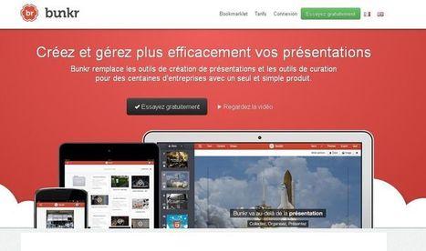 [outils] Bunkr : l'appli qui remplace le Powerpoint | Social Media Curation par Mon Habitat Web | Scoop.it