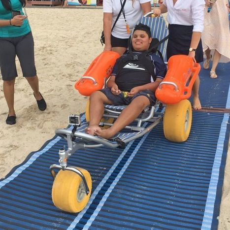 Wheelchair-accessible beaches on Gold Coast a possibility   Accessible Tourism   Scoop.it