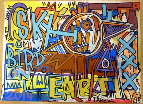 Sky bird on earth by Tarek | Tarek artwork | Scoop.it