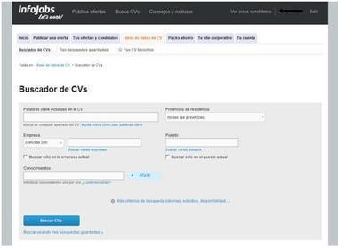Interesante. Cómo funciona el buscador de candidatos de Infojobs | Emplé@te 2.0 | Scoop.it