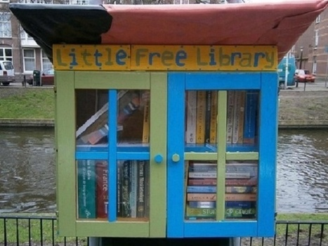 The Low-Tech Appeal of Little Free Libraries | Peer2Politics | Scoop.it