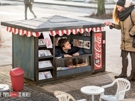 Coca-Cola Builds Adorable Mini Kiosks to Sell Mini Cokes | Experience design samples | Scoop.it