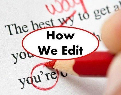 Choosing Not to Edit - Copyediting.com | Editorial tips and tools | Scoop.it
