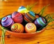 Come colorare le uova di Pasqua - Mediterranews | Decorazioni dolci | Scoop.it