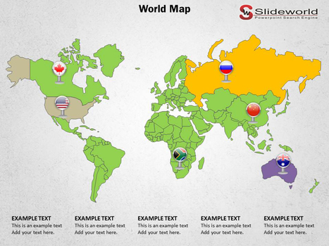 Download Top Worlds Map Powerpoint Theme at Affordable Price | Personality Development PPT | Scoop.it