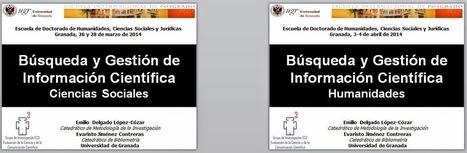 EC3noticias: Maratón docente con los nuevos doctorandos de la Universidad de Granada   EC3   Scoop.it
