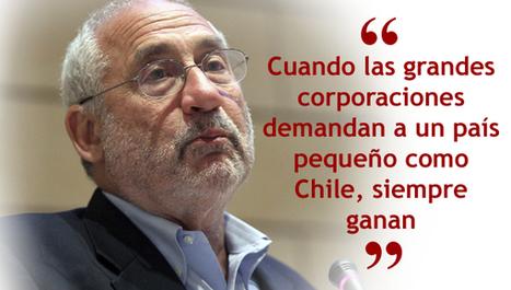 Ni él ni nadie: Stiglitz y el TPP: No entiendo a Bachelet | Política para Dummies | Scoop.it