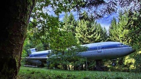 Man Transforms Gigantic Airplane Into His Home | Strange days indeed... | Scoop.it