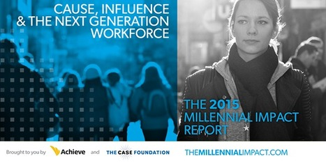 The Millennial Impact – Research | Crowdfunding, Giving Days, and Social Fundraising for Nonprofits | Scoop.it