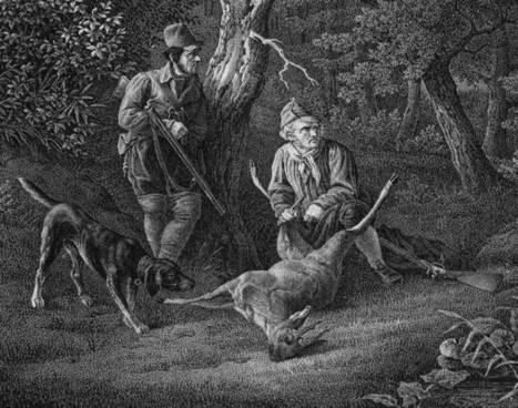 Le meurtre d'un gendarme par un braconnier, en 1840. | RoBot généalogie | Scoop.it